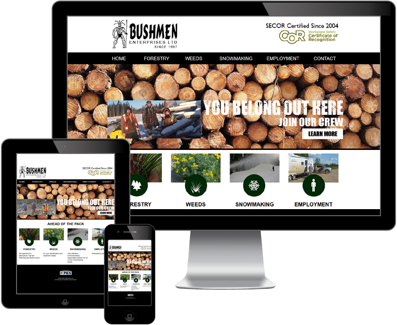bushmen enterprises ltd website