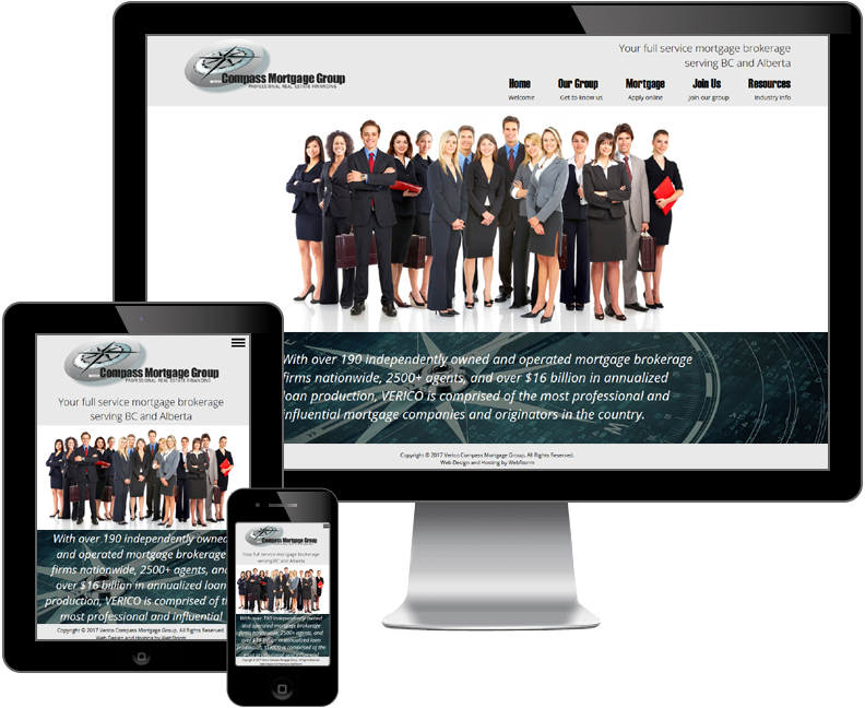 Compass Mortgage Group website
