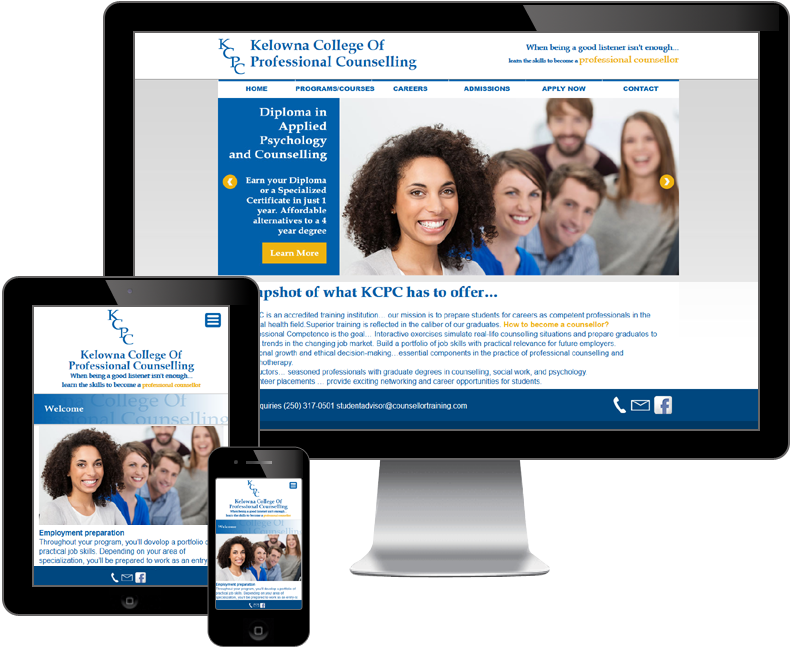 kelowna collage of professional counselling website