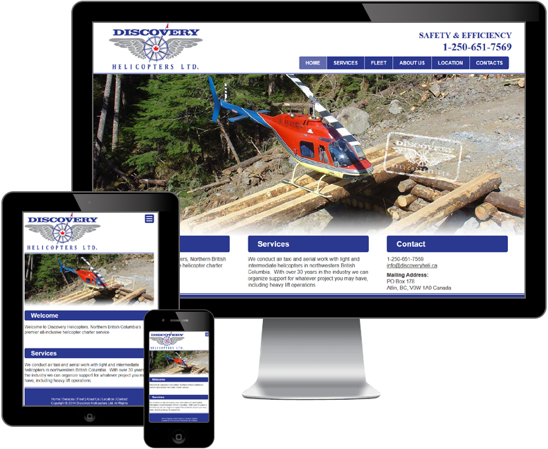 discovery helicopters ltd website