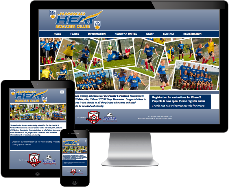 junior heat soccer club website