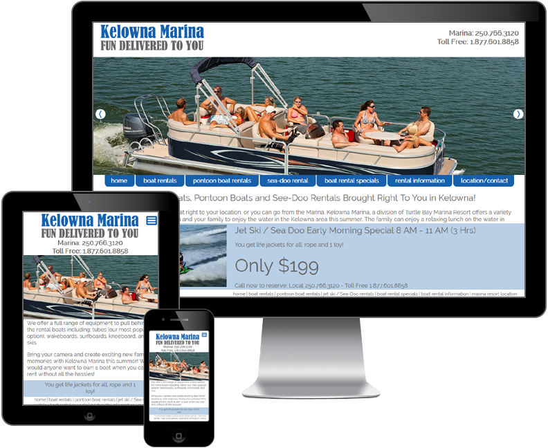 kelowna marina website