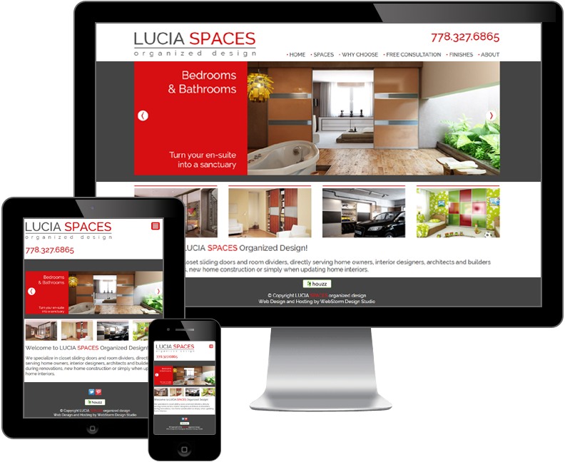 lucia spaces website