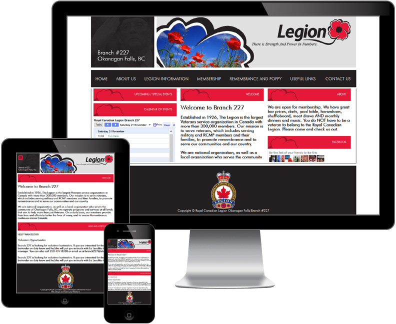 royal canadian legion website
