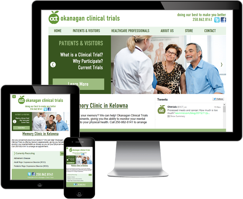 okanagan clinical trials website
