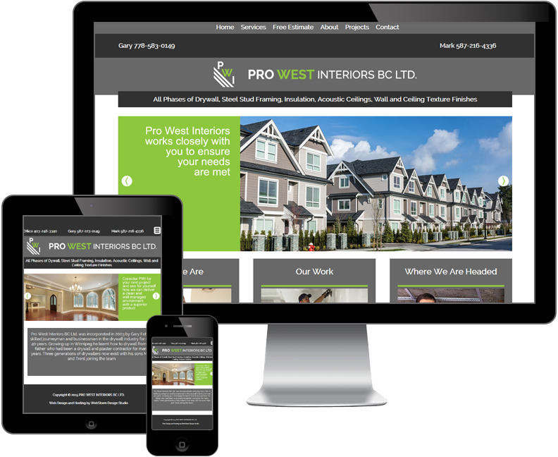 pro west interiors bc ltd website