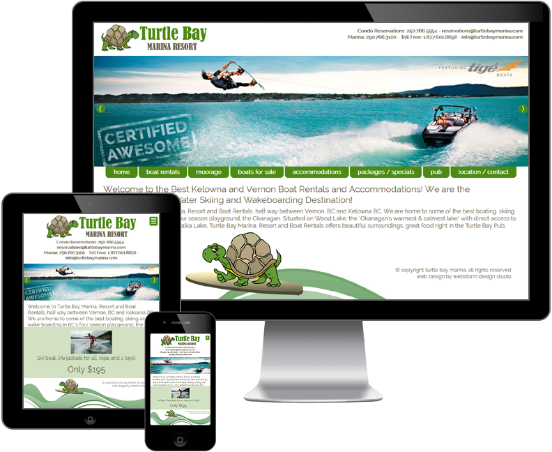 turtle bay marina resort website