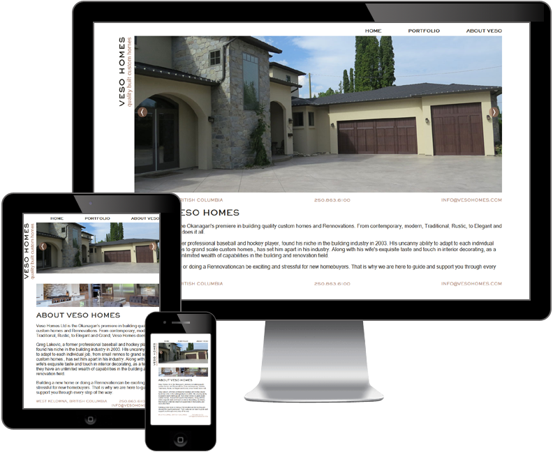 veso homes website