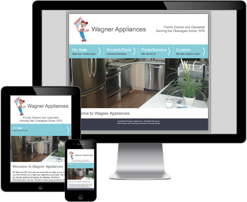 wagner appliances website