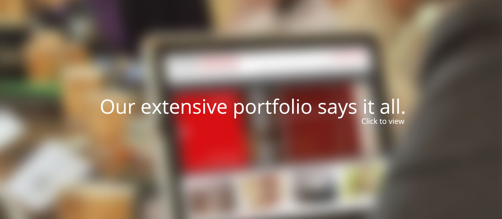 our extensive web design portfolio says it all